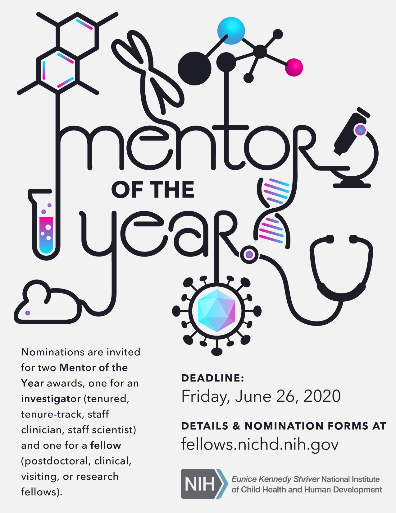 Mentor of the Year poster