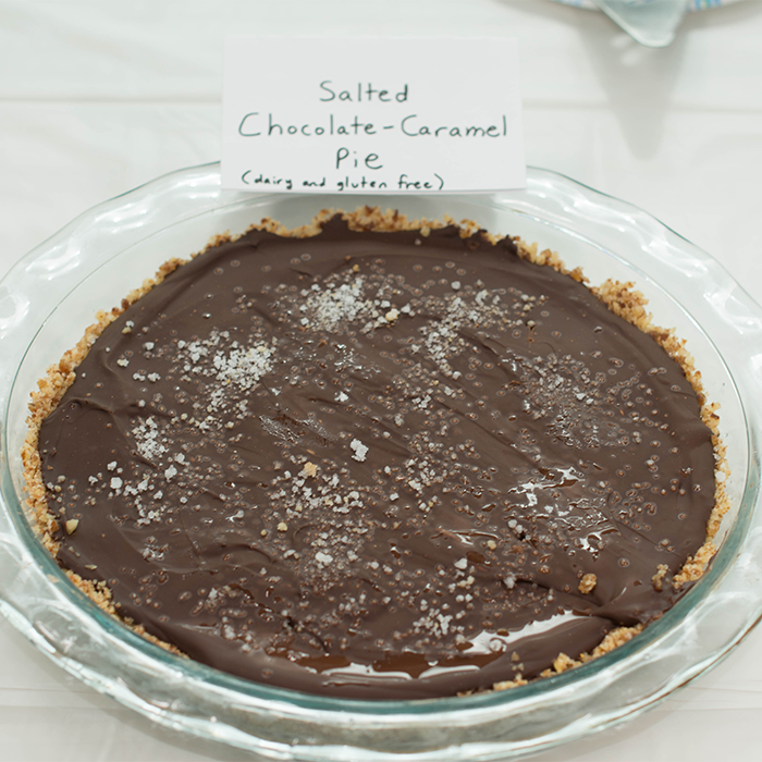 Salted Chocolate-Caramel Pie