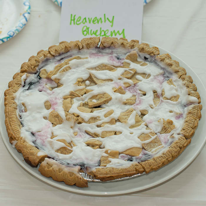 Heavenly Blueberry Pie