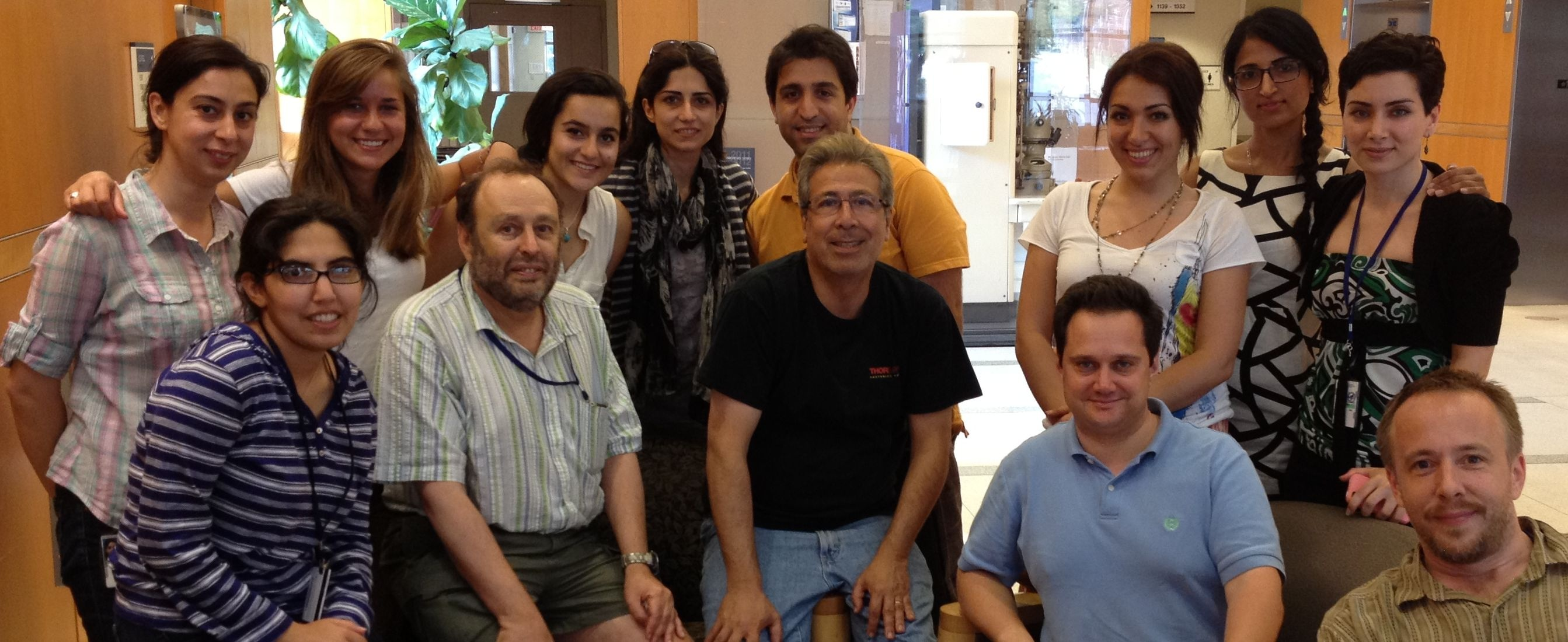 Photo of SAFB lab members