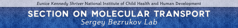 Section on Molecular Transport - Sergey Bezrukov Lab