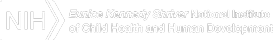 National Institutes of Health and Eunice Kennedy Shriver National Institute of Child Health and Human Development Logo